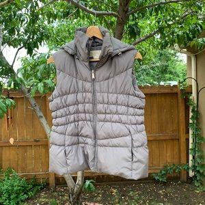 Michael Kors Grey Puffy Vest